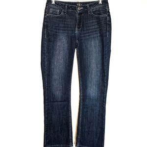 Rides by Lee jeans 10P dark denim straight leg